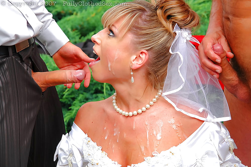 bukkake-wedding-receptiontures-cumshot-smile