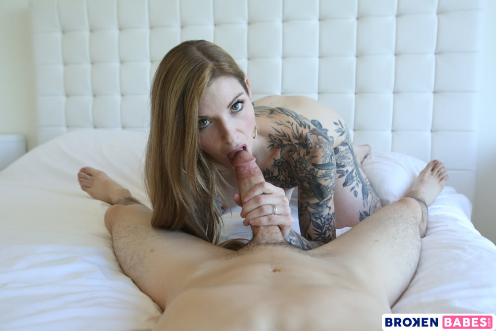BrokenBabes - Tattooed Babe Penny Archer Pleases Her Neighbo - 66 Pics