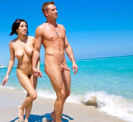 Strand errektion am fkk Beste Fkk
