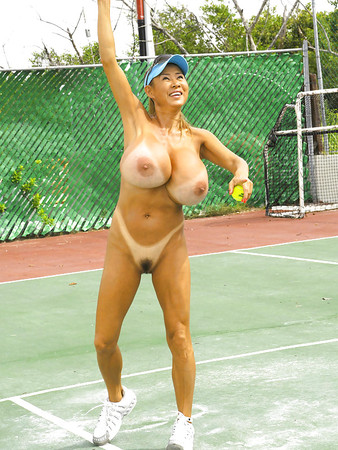 Big Boobs Tennis