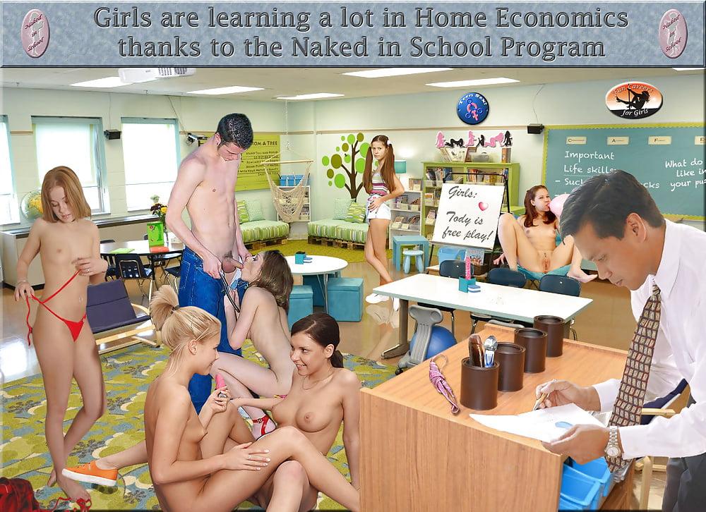 Naked School