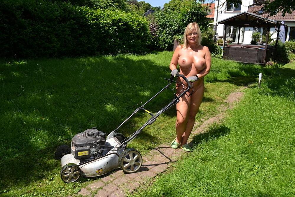 Sexy Mowing Lawn Nude Scenes