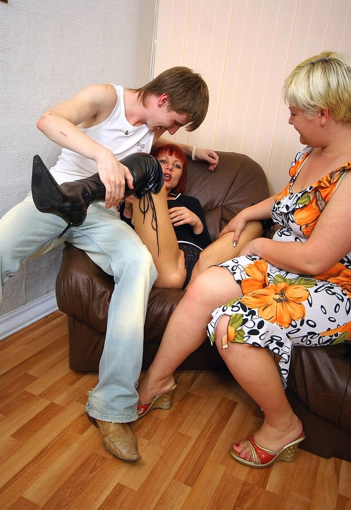 Russian momies prefer male cream - 95 Pics