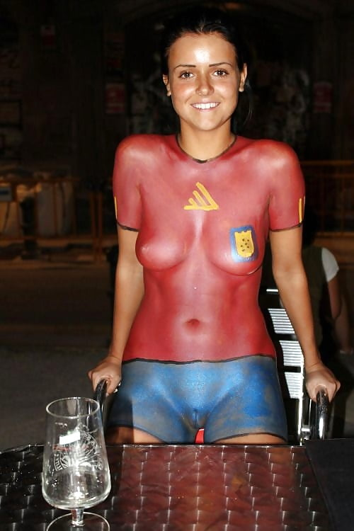 Body Paint Vagina Showing