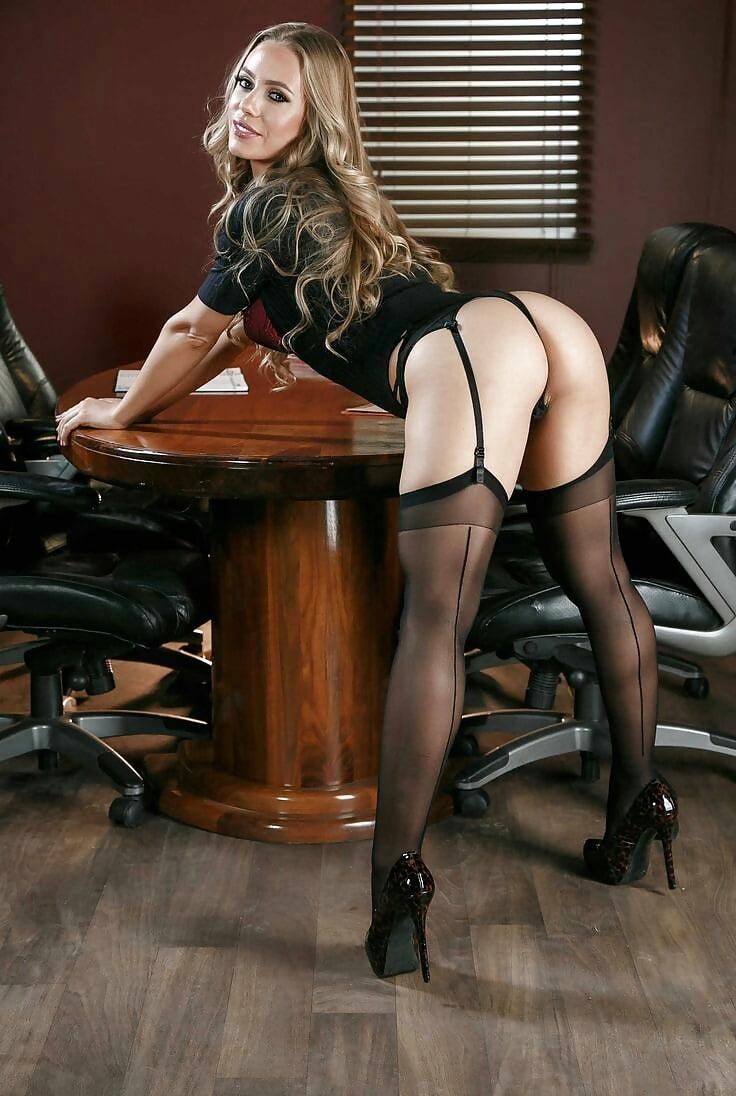 Pantyhose secretary porn pics