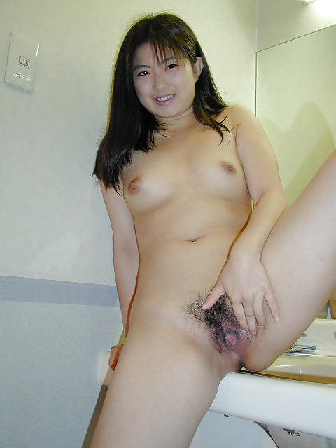 Japanese girl uses toy-3508