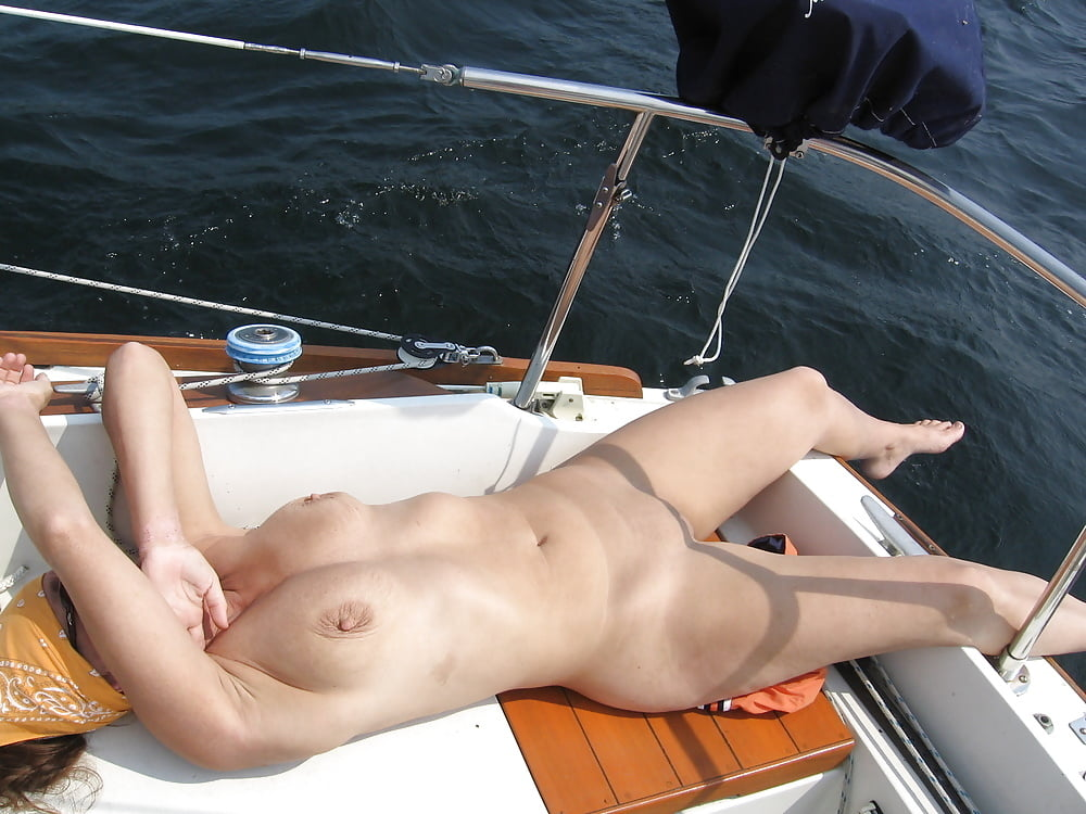 Naked fucked in boat