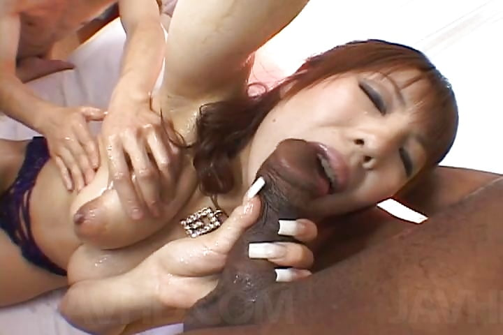 Black on japanese porn