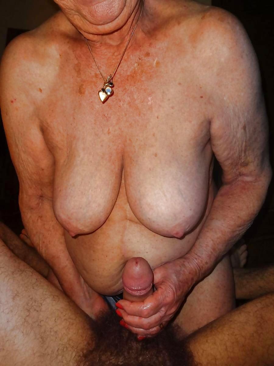 Old granny handjob free pics