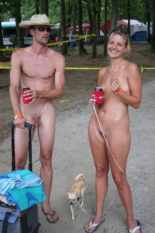 Nudist first bleed