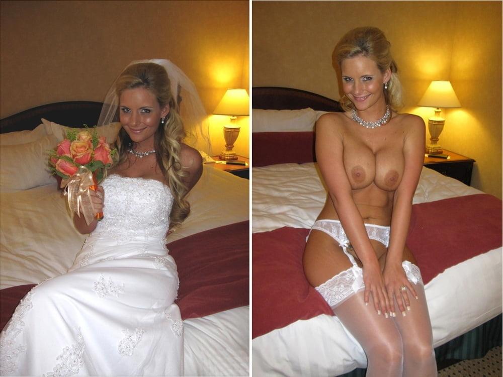 Nude sexy bride