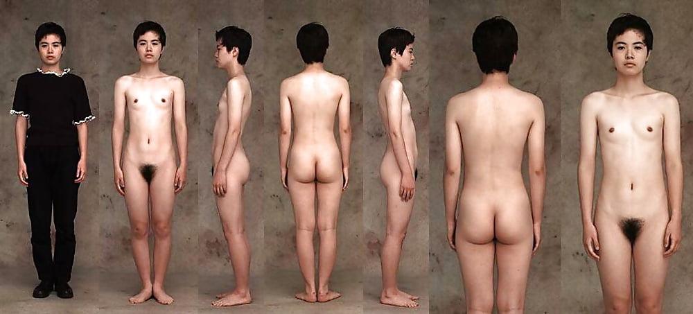 Woman Nude Posture Study