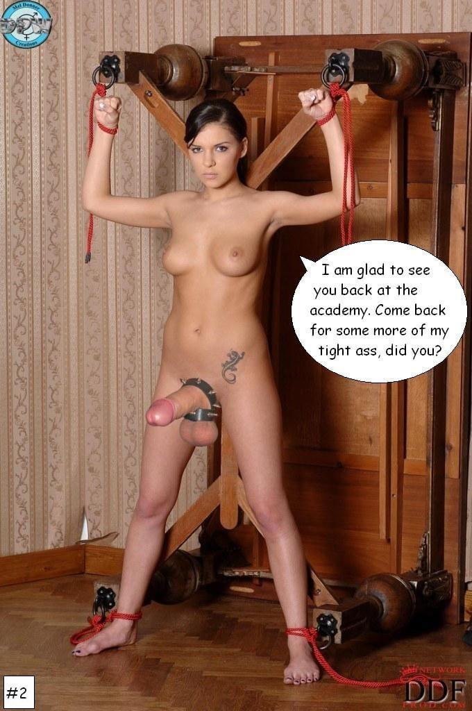 Shemale sex slave