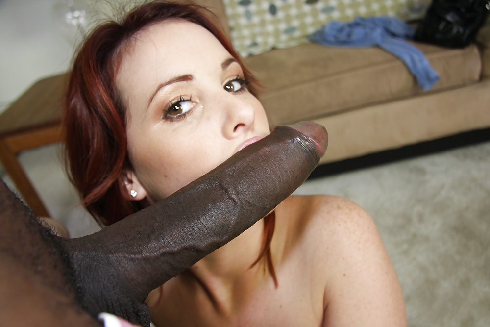 Huge cock amateur blowjob