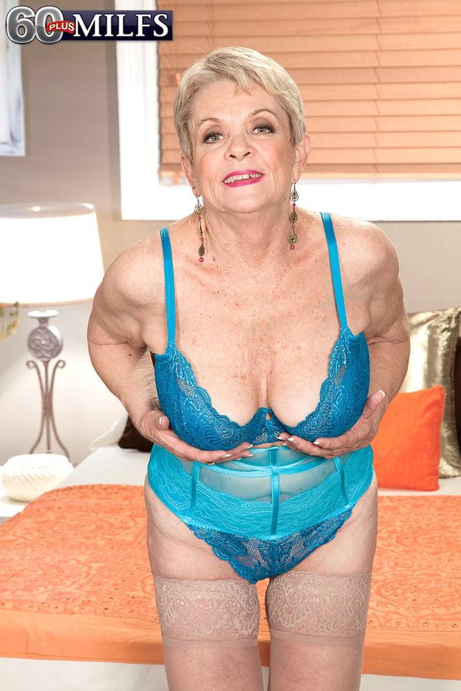 Lin Boyde in blue lingerie - 46 Pics