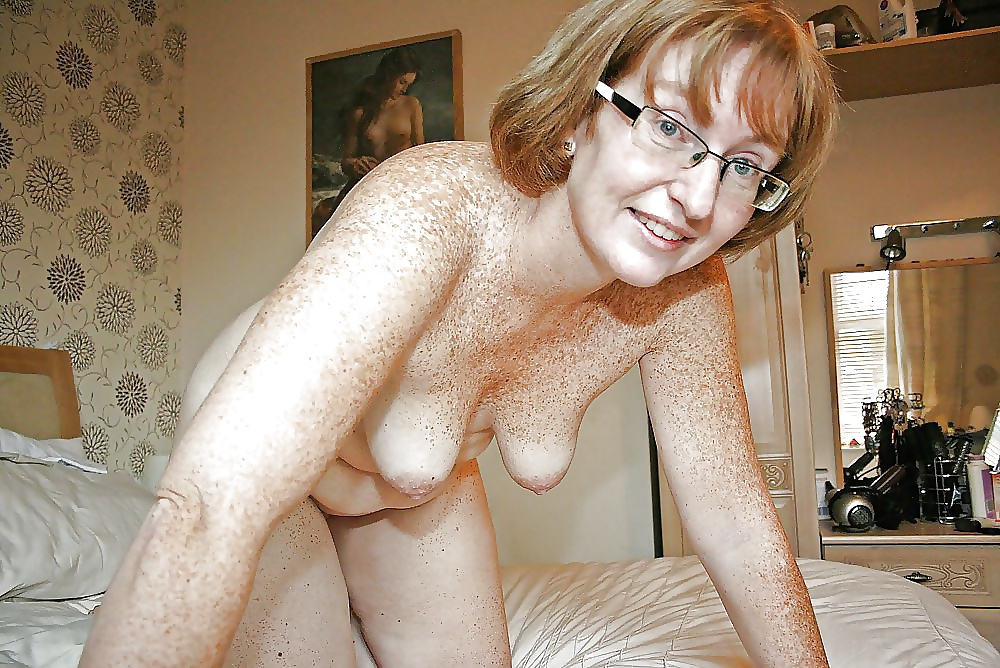 Freckled Mature Nude Women