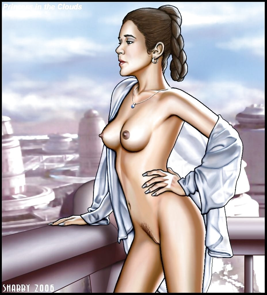Naked star wars leia 1