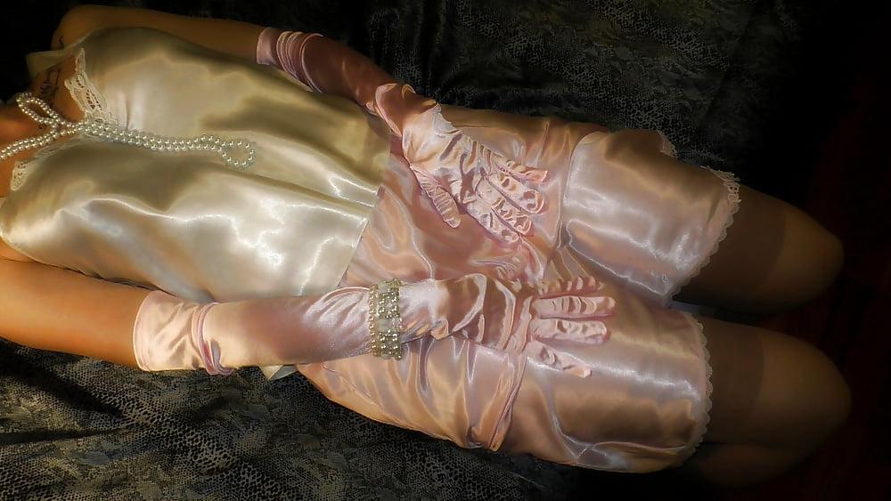 Katie laura's fancy satin panties