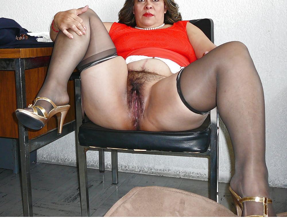 Hairy latina mature anal