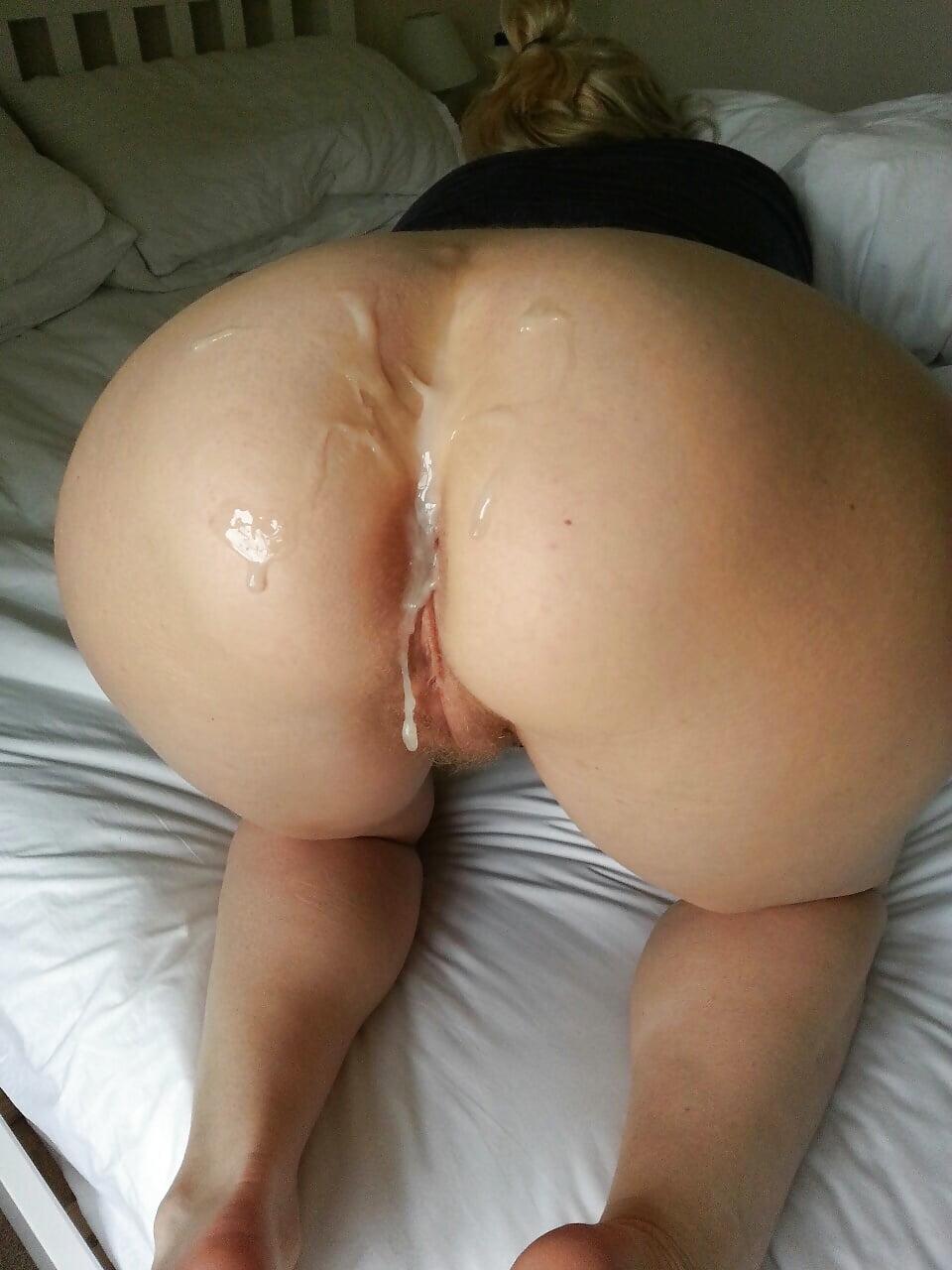 Cum in butt nude
