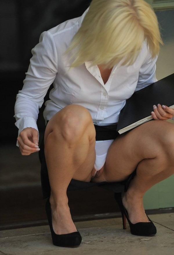 Mature Teacher Panties In Class
