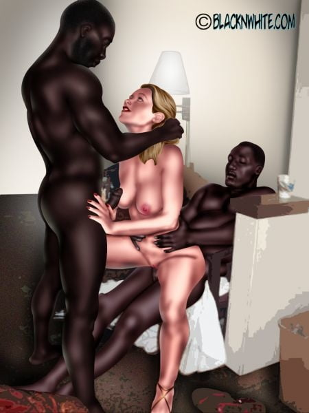 Interqueen's Interracial Sex Art