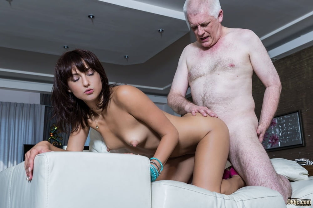 Old man young girl porn