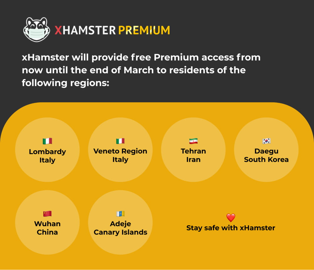 Stay safe with xHamster <3