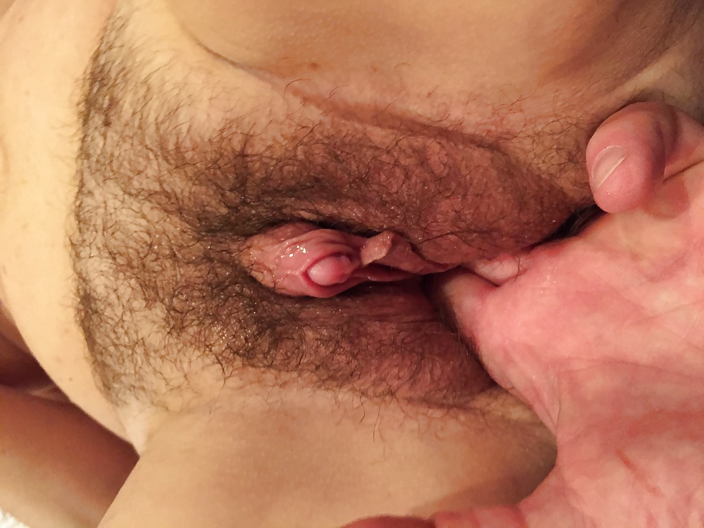 Hairy bush big clit pussy compilation