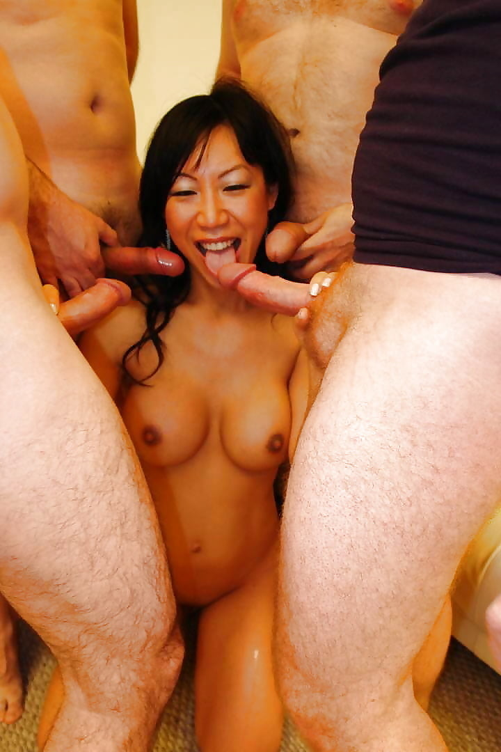 Asian Girl Getting Gangbanged Hqsluts 1