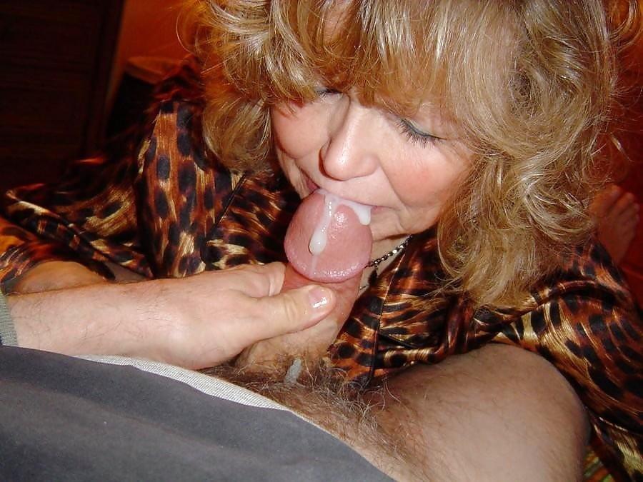 зрелая жена любит сперму - 13