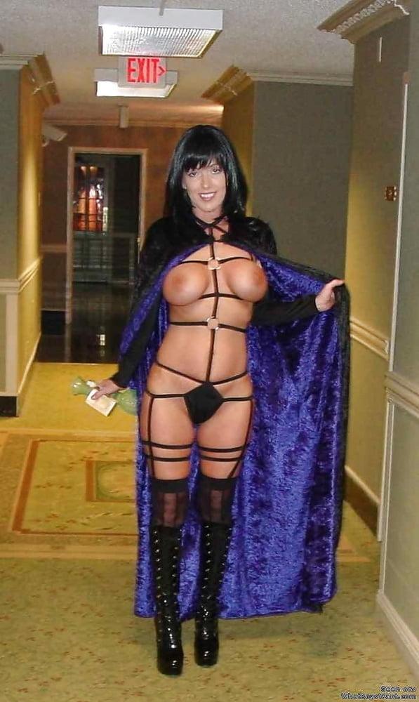 Dressed like a whore
