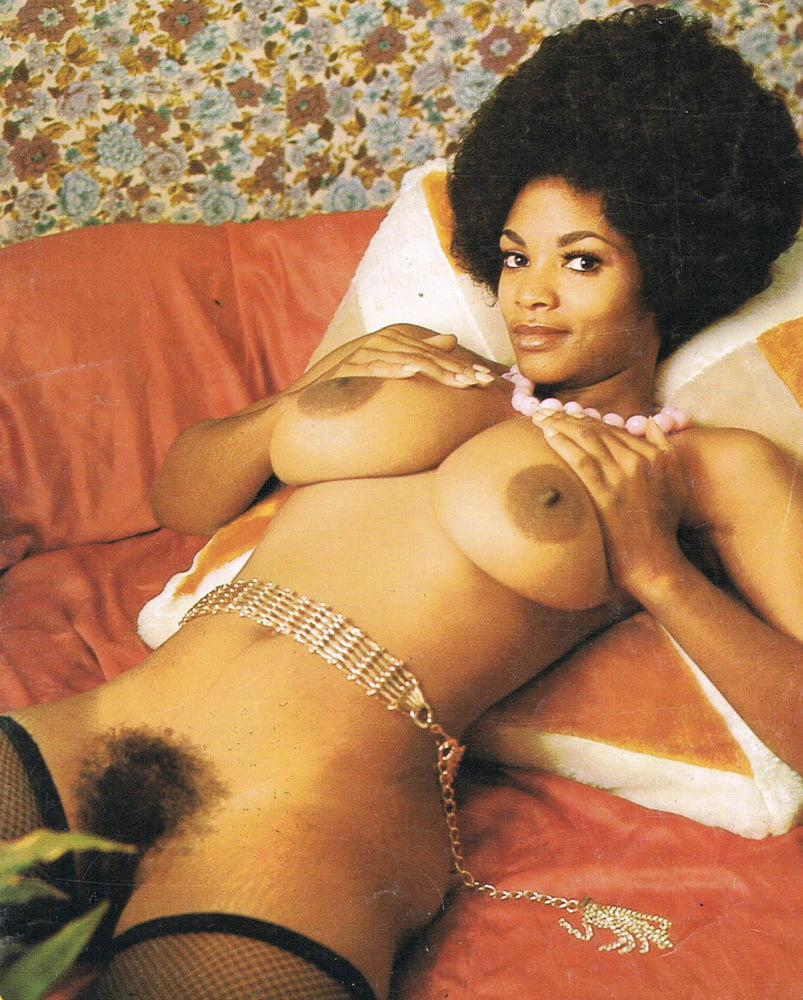 Vintage black girl nude, young ebony orn