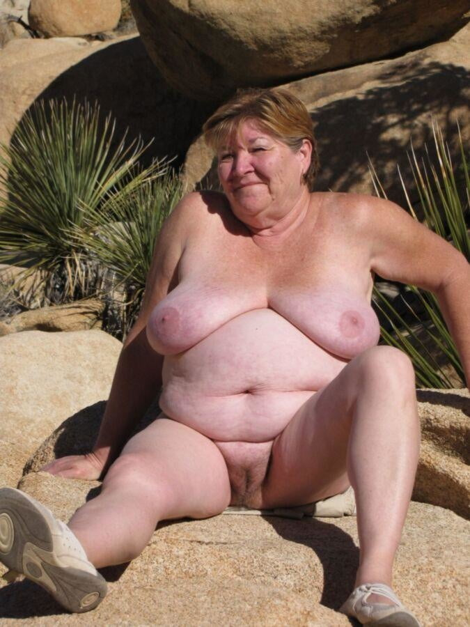 Sexy grandma naked