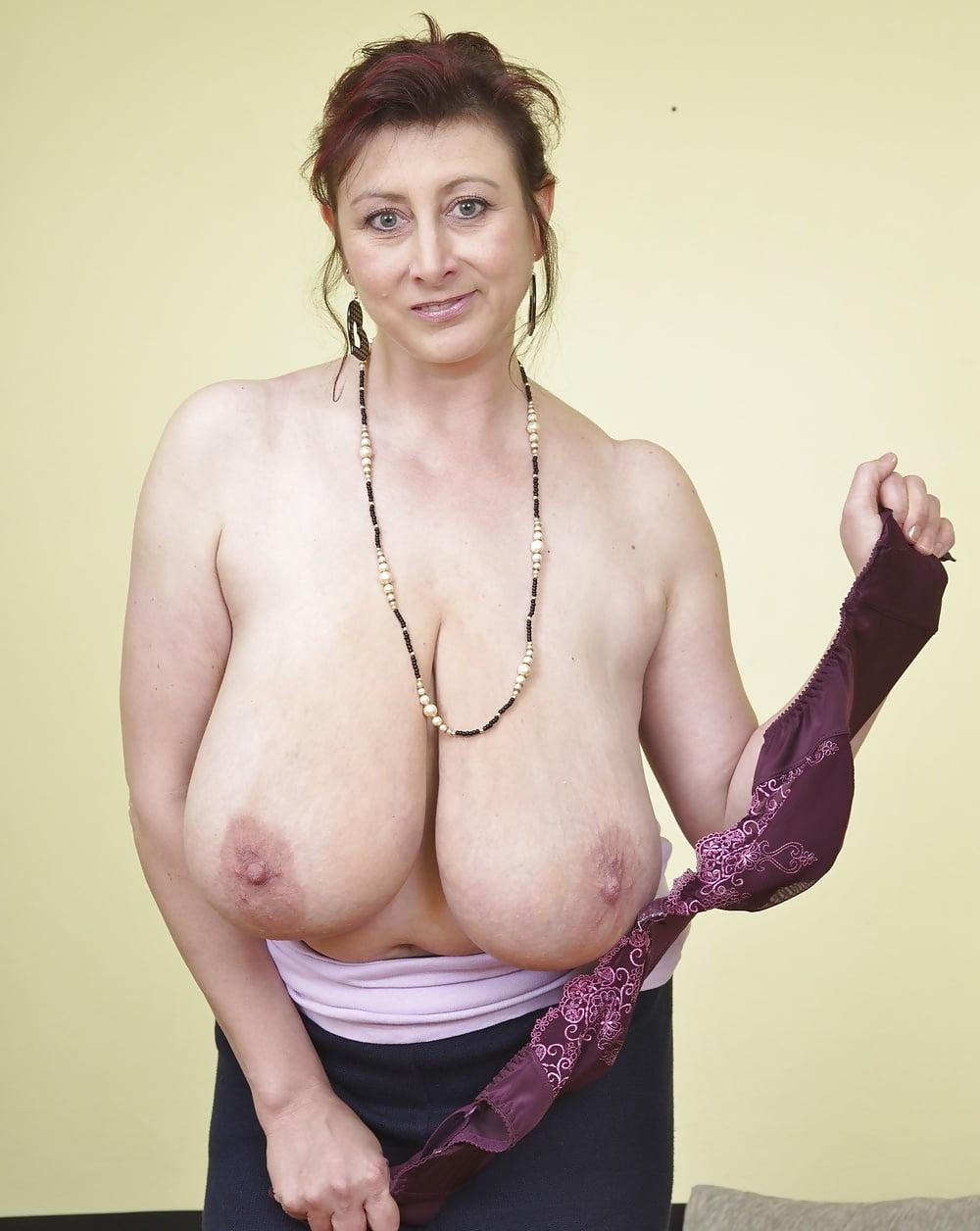 Hot milf big saggy tits #4