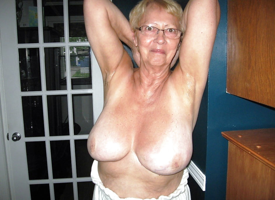 Grandma boobs nude women