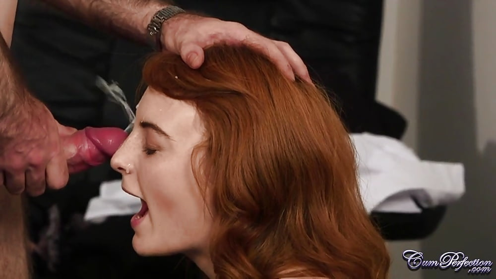 Td mor outstanding redhead facial - 3 9