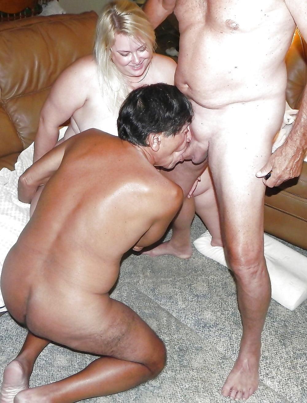 Секс бисексуалов-домашнее фото — 8