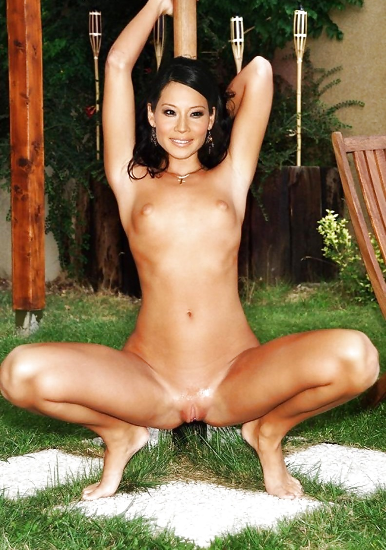 Naked lucy liu in flypaper
