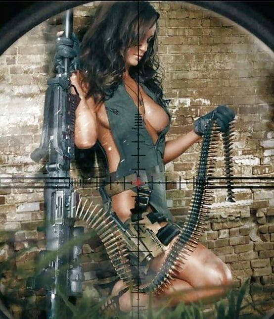 Rguns nude girls and guns calender