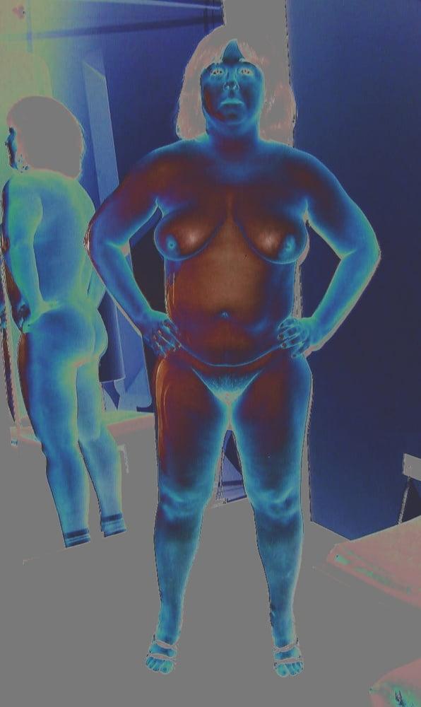 Naked fat white ladies-4067
