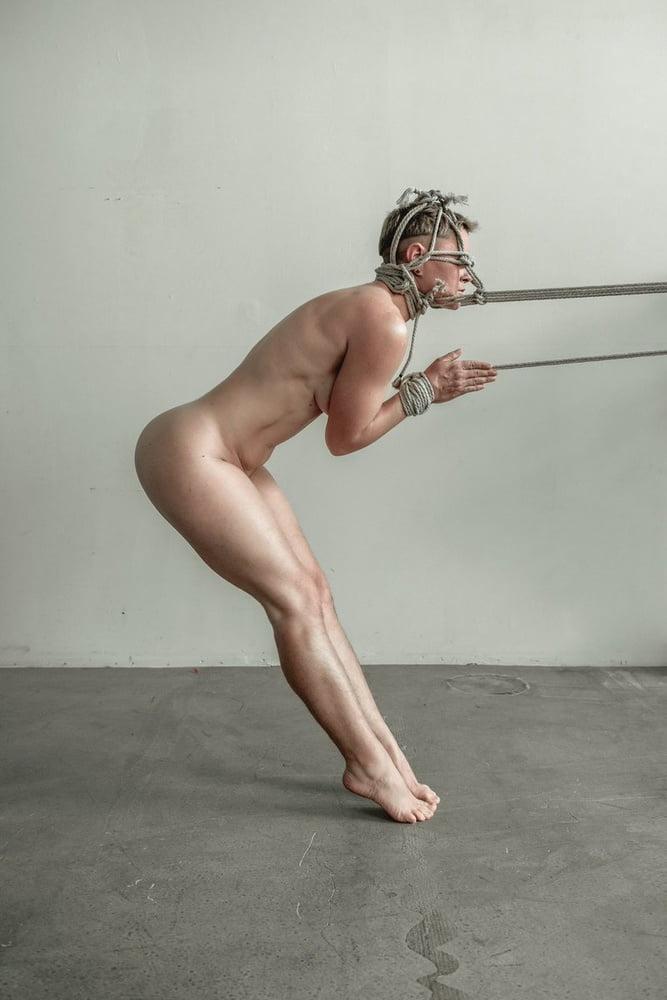 Bondage Standing Frontal 1