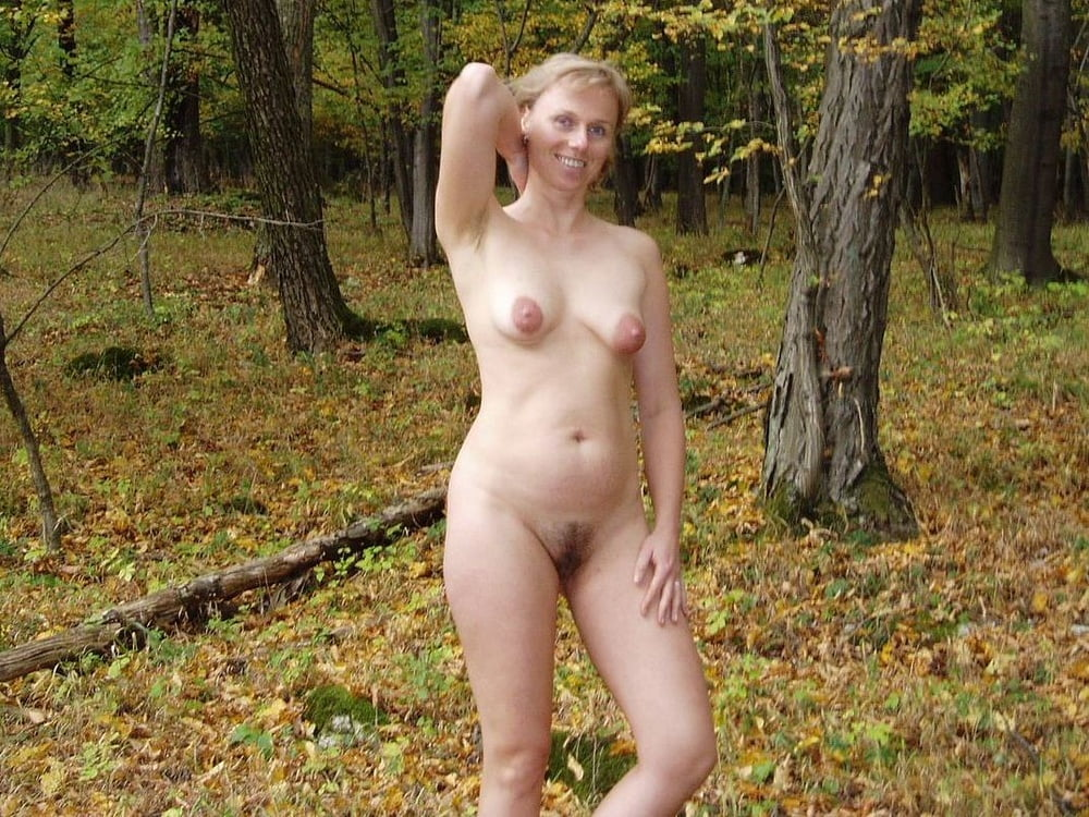 Very Sexy Teenager Undressing Completely Naked In The Woods