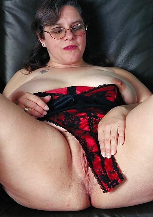 With dick granny glasses nude
