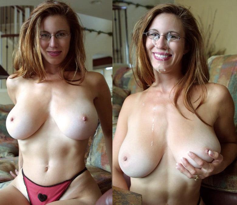 Huge tits mom fucks son