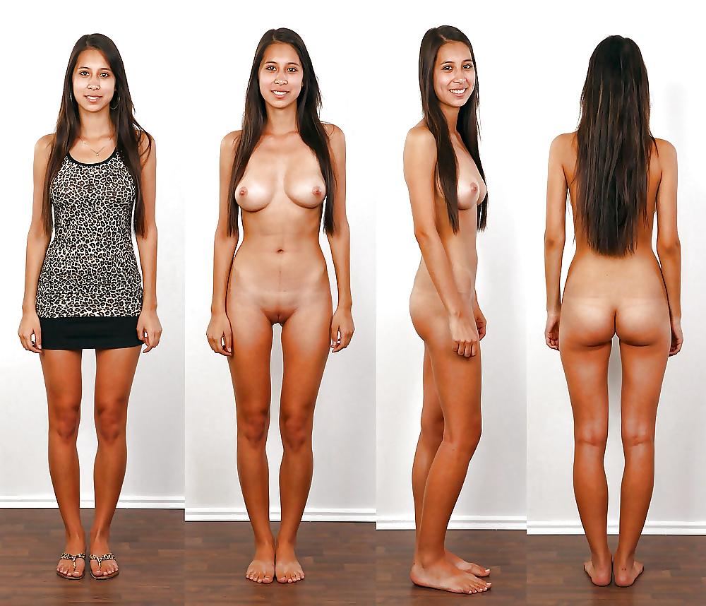 Dressed Undressed Nude Naked
