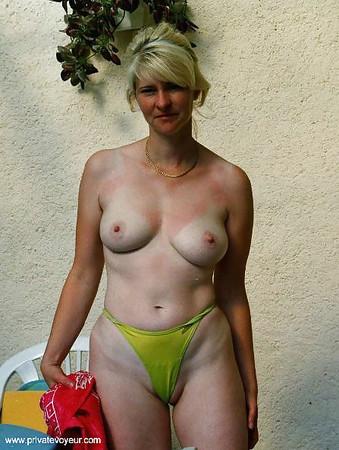 woman Topless mature