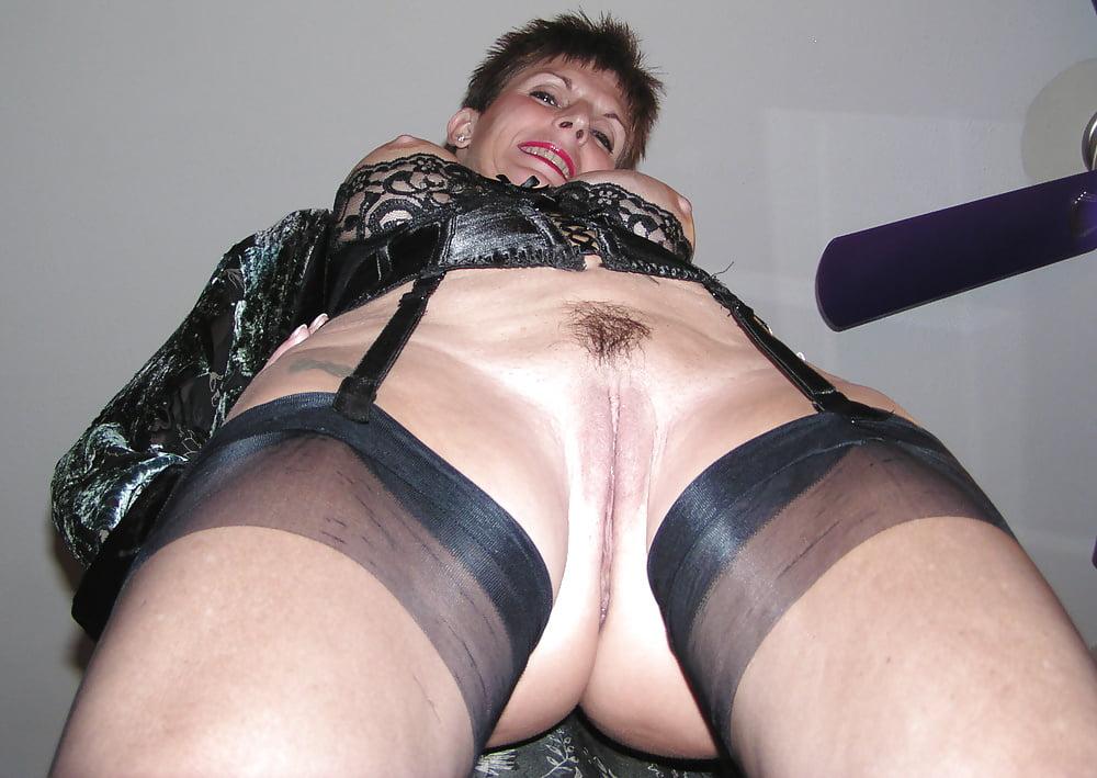 Mature Panty Pussy Slip