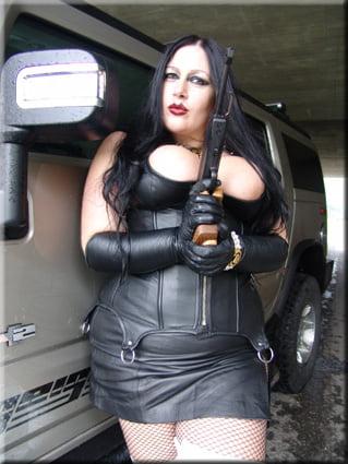 Schokomaus lady Latex Lady