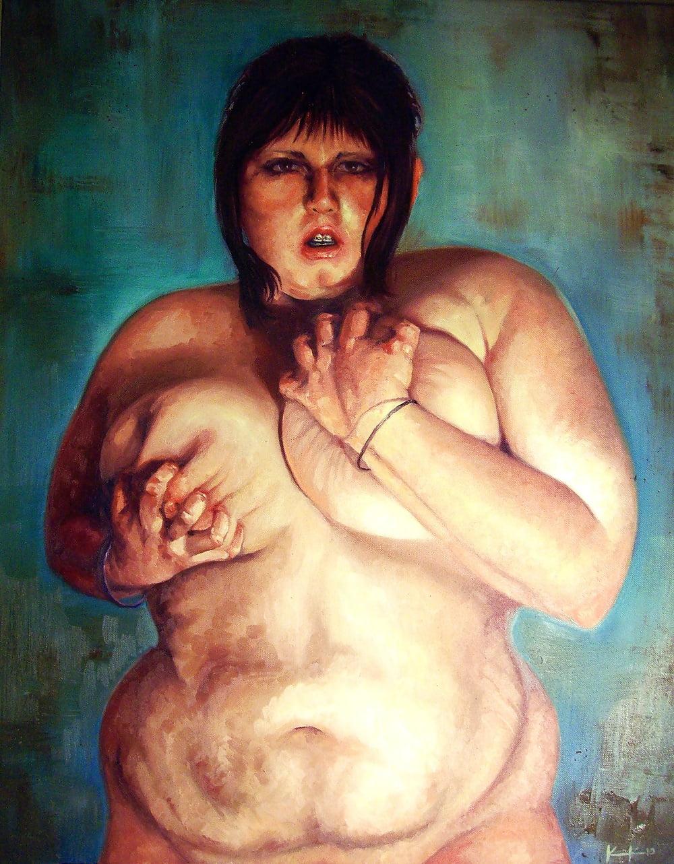 My nude self portrait